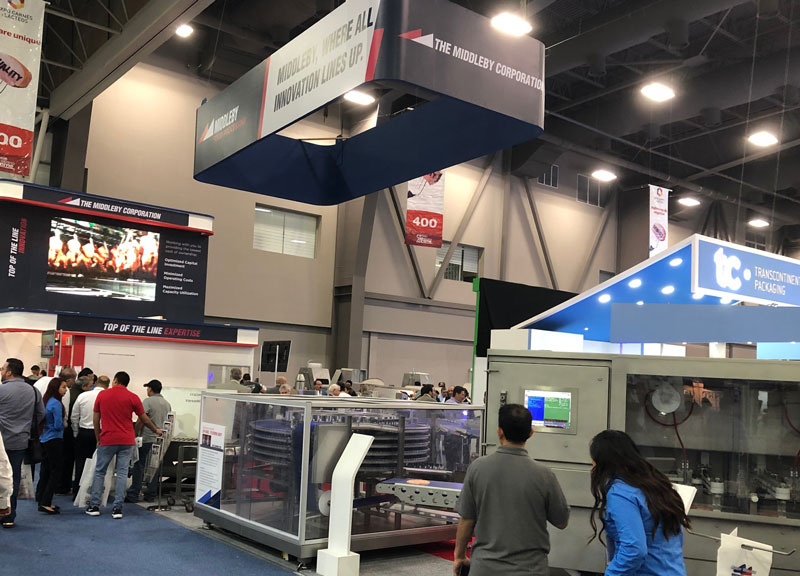 Scanico at Expo Carnes 2019 in Mexico with the Middleby Corporation